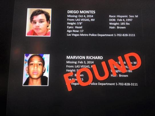 Missing Kids 2015 found 1