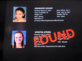 Missing Kids 2015 found 5