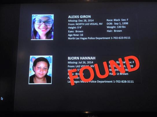 Missing Kids 2015 found 9